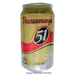 Aguardente Pirassununga 51 Lata 350 mL