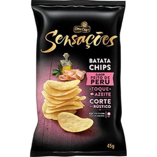 Batata Sensações Elma Chips Sabor Peito Peru 45 g