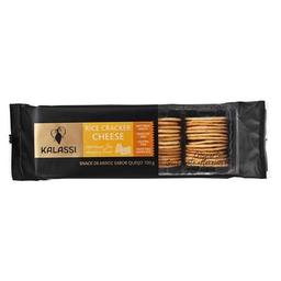 Biscoito Kalassi Rice Cracker Cheese 100 g