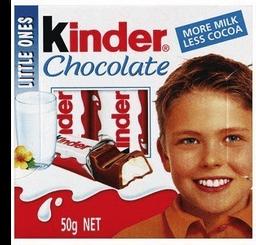 Chocolate Kinder Barra T4 50 g
