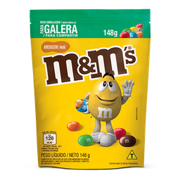 M&Ms Pouch Amendoim 148g