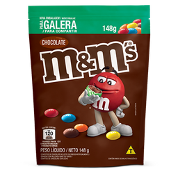 M&Ms Pouch Chocolate 148g
