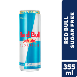 Energético Red Bull Sugar Free 355 mL