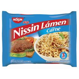Macarrão Nissin Lamen Carne 85 g