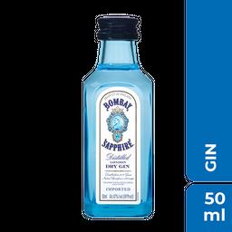 Miniatura Gin Bombay Sapphire Dry London 50 mL
