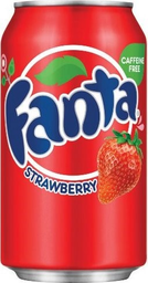 Refrigerante Fanta Importada Strawberry 355 mL