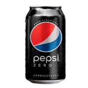 Pepsi cola zero lata
