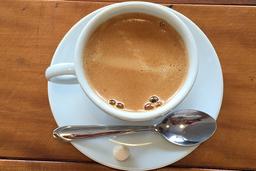 Café   expresso media.