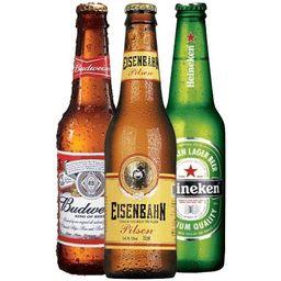 Cerveja long neck 330ml