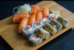 Hirata mini de salmão (16 peças)