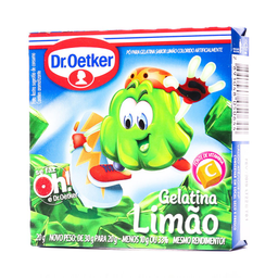 LEVE 6 PAGUE 5 Dr. Oetker Gelatina Limão