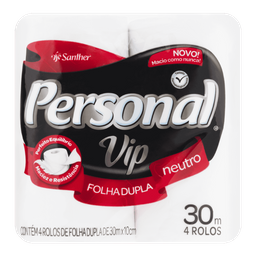 Personal Vip Papel Higiênico Neutro