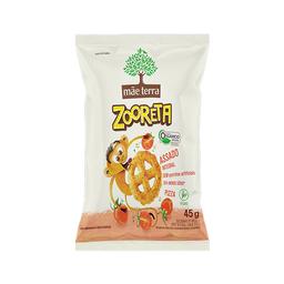 Mãe Terra Salgadinho Assado Orgânico Integral Zooreta Pizza