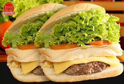 Combo x-salada + batata + refri lata