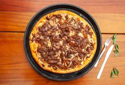 Pizza de Carne Seca Acebolada