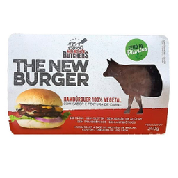 Hambúrguer De Carne Vegetal The New Butchers 240 g