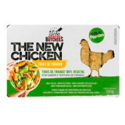 Tiras De Frango Vegetal The New Butchers 210 g