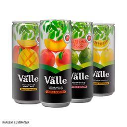Suco del valle pêssego, uva, maracujá (lata)