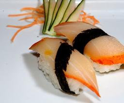 Dupla de sushi de haddock