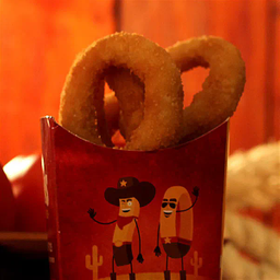 Onion rings (individual)