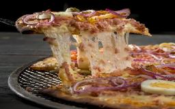 Escolha Seus 2 Sabores de Pizza