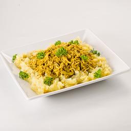 Frango ao curry com batata doce