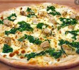 Pizza de Espinafre