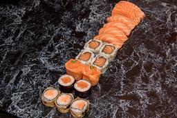 Combinado loucos por salmão
