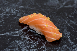 Sushi salmão limão siciliano