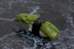 Sushi aspargos (veggie)