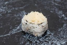 Uramaki salmão kani crispy
