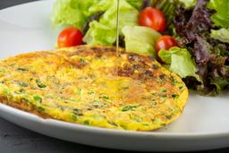 Omelete com Cebola