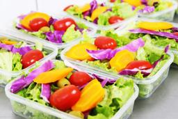 Salada tropicana c/ grelhado de bife