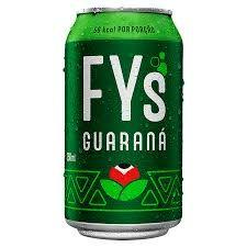 Refrigerante fys guaraná