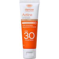 Protetor Solar Actine FPS 30 Com Cor Darrow Universal 40 g