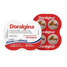 Doralgina Neo Química 4 Comprimidos