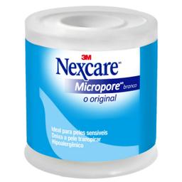 Esparadrapo 3Masculino Microp Branco 50X4,5