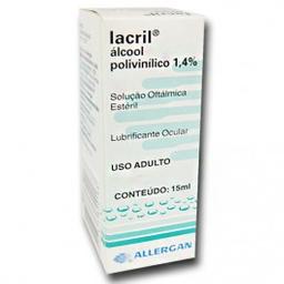 Lacril Colírio Allergan 15 mL