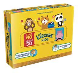 Lenço Kleenex Sem Perfume Leve 60 Und Pague 50