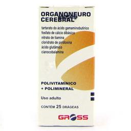 Organo Neuro Cereb Gross 25 Comprimidos