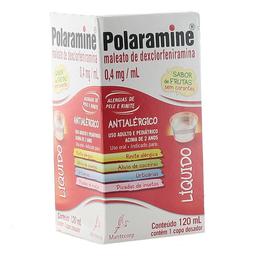 Polaramine Mantecorp 120 mL