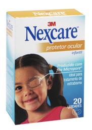 Protetor Ocular Nexcare Infantil 20 Und