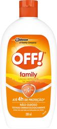 Repelente Off Loção Family 200 mL