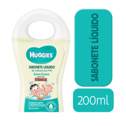 Huggies Sabonete Liquido Huggies Extra Suave - 200Ml