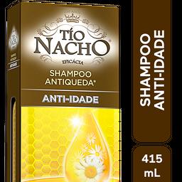 Shampoo Antiqueda Anti-idade Tio Nacho, 415ml