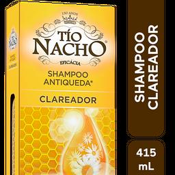 Shampoo Antiqueda Clareador Tio Nacho, 415ml