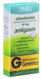 Simeticona Medley 40Mg 20 Comprimidos
