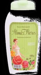 Talco Perfumado Alma De Flores Clássico 100 g
