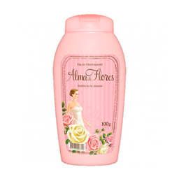 Talco Perfumado Alma De Flores Jasmim 100 g