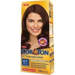 Tintura Cor & Ton 6.7 Kit Básico
